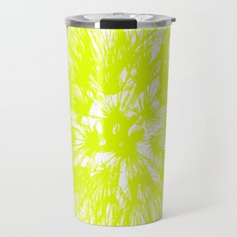 Make A Wish Dandelion Vector In Yellow Travel Mug