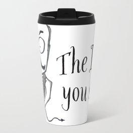 The Devil You Say! Metal Travel Mug