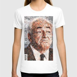 BEHIND THE FACE Dominique Strauss-Kahn   sexy girls T-shirt