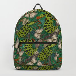 entangled forest rust Backpack
