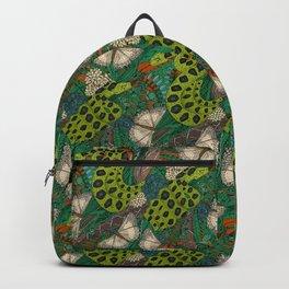 entangled forest rust Backpack