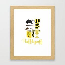 The House of Hufflepuff Framed Art Print