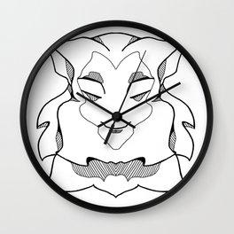 Wise Monkey Wall Clock