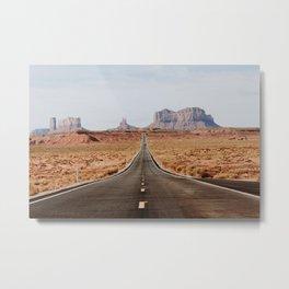 Desert Road Trip V Metal Print