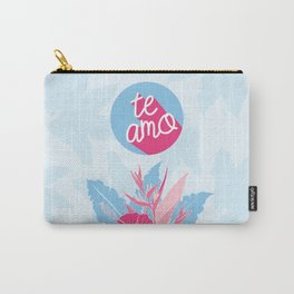 """Tropical Love - """"Te Amo"""" [Spanish] Carry-All Pouch"""