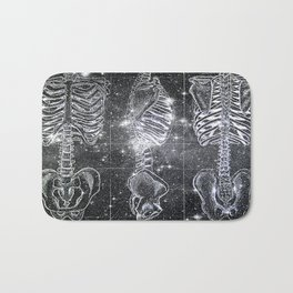 Space Bones Bath Mat
