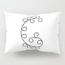 """Letter """"G"""" in beautiful design Fashion Modern Style Pillow Sham"""