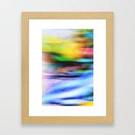 BRIGHT II Framed Art Print