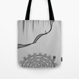 Wheel of Doubts Tote Bag