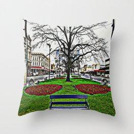 Ballarat Main Street Throw Pillow