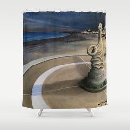 Lady of the Sea Shower Curtain