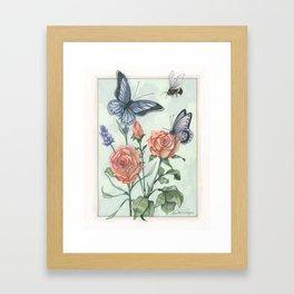 Kathie's Garden Framed Art Print