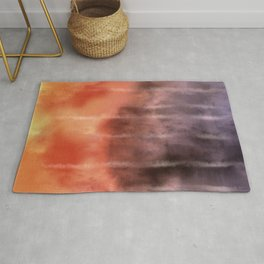 Fire Under the Mountain Rug