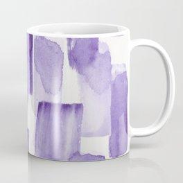 Purple Watercolour Patterns | 190129 Abstract Art Watercolour Coffee Mug