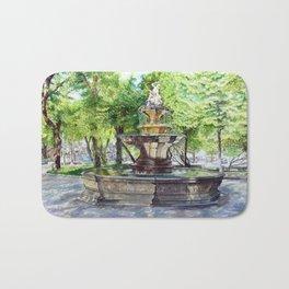 Old Fountain at Split, Croatia Bath Mat