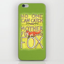 Mother-Foxer iPhone Skin