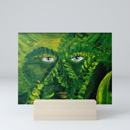 Garden Guardian Hurricane Gnome Mini Art Print