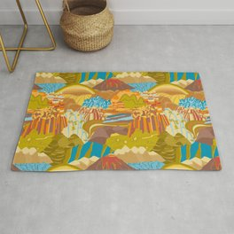 Rock Formations Rug
