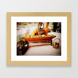 Harvest2 Framed Art Print