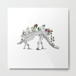 Stego-flora-saurus Metal Print