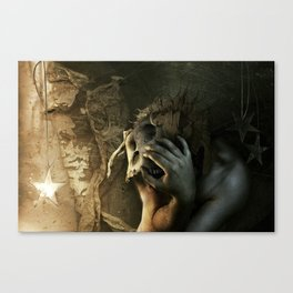 Even if I have to tear my world apart... Canvas Print