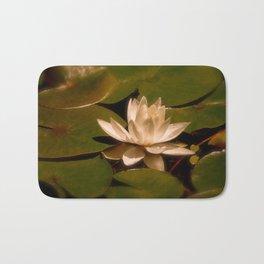 Autumns Water Lily Bath Mat