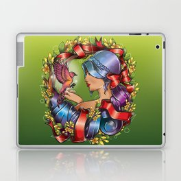 Live with Peace - Colored Version Laptop & iPad Skin
