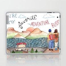 Adventure Buddy Laptop & iPad Skin