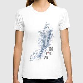 Keuka Live Love Lake T-shirt