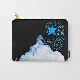 Unicorn black 1 Carry-All Pouch