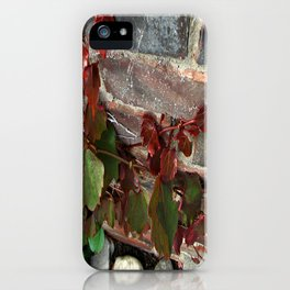 Red Ivy iPhone Case