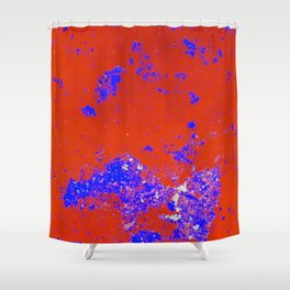 Abstract Island Shower Curtain