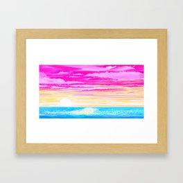 Pan Sky Framed Art Print