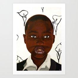 Tanzanian Girl Art Print
