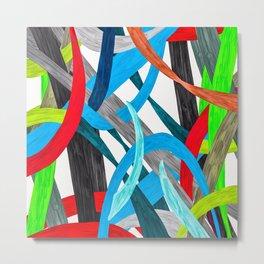 Abstract Carnival  Metal Print