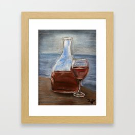Elegance with ambiance Framed Art Print