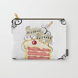 Let Them Eat Cake Vintage Tattoo Style Carry-All Pouch