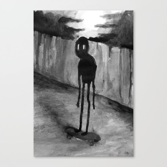 Skaterade Canvas Print