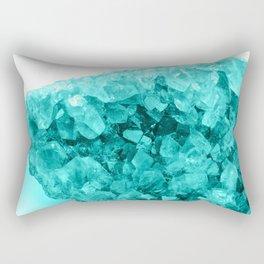 Aqua Ice Amethyst Rectangular Pillow