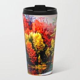 Abstract Perfection 42 Autumn Travel Mug