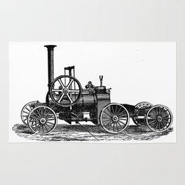 Steam car Rug