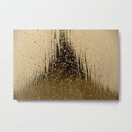 Autre goutte de pluie - heavy #rain Metal Print