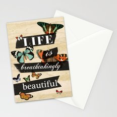 Life is Breathtakingly Beautiful Stationery Cards