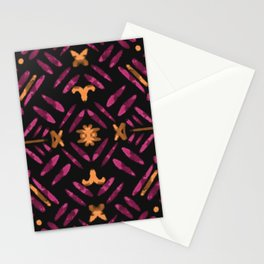 Tribal Lines Stationery Cards