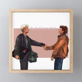 FOCK CHERNOBYL // Wtfock Framed Mini Art Print