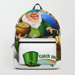 St. Patricks Day Leprechaun Catch Me.... Perfect Gift Shirt Backpack