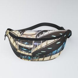 Curved walkways Fanny Pack