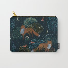 Forest Foxes Carry-All Pouch