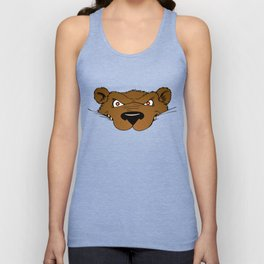 Attention Bear Unisex Tank Top