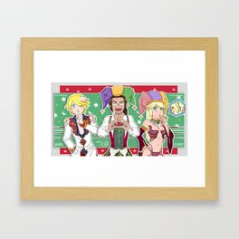 Ragnarok Circus Framed Art Print